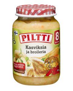 PILTTI 200G KASVIS-BROILERISOSE 8KK