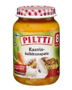 PILTTI 200G KASVIS- KALKKUNAPATA 8KK