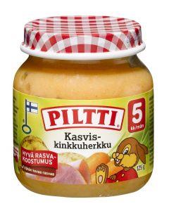 PILTTI 125G KASVIS- KINKKUHERKKU 5KK