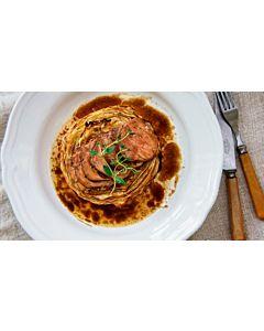 Resepti-Kokonainen porsaan sisäfilee ja paahdettua kaalia