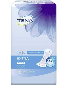 TENA LADY  SIDE EXTRA 10KPL