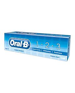 ORAL-B 75ML 1-2-3 MINT HAMMASTAHNA