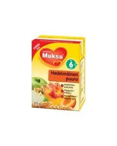 MUKSU HEDELMÄINEN PUURO 6KK 215G