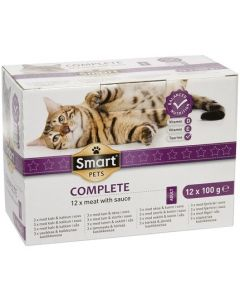 SMART CAT MENUBOX LIHAA KASTIKKEELLA 12KPLX100G