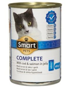 SMART CAT TURSKAA&LOHTA KASTIKKEESSA 405G