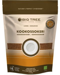 BIG TREE FARMS LUOMU KOOKOSSOKERI 500G