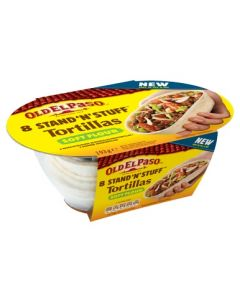 OLD EL PASO STAND 'N' STUFF SOFT TORTILLAS 8KPL 193G
