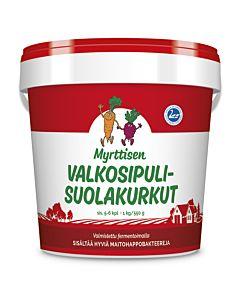 MYRTTISEN VALKOSIPULI-SUOLAKURKKU 550G
