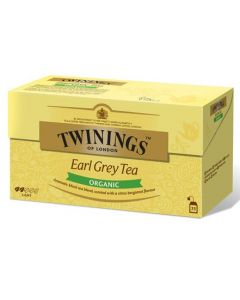 TWININGS 25PS/50G LUOMU EARL GREY TEE