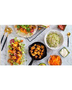 Resepti-Tofu-tortilla, pitaleipä tai salaatti