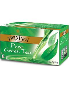 TWININGS 25PS/50G PURE GREEN TEA VIHREÄ