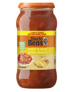 UNCLE BENS 400G SWEET SOUR EXTRA ANANAS