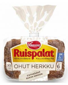 VAASAN RUISPALAT OHUT HERKKU 6KPL 195G