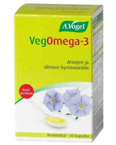 VEGOMEGA -3 KAPSELI 30 KPL