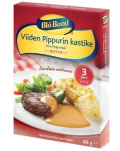 BLÅ BAND BISTRO 3X16G 5 PIPPURIN KASTIKEAINES