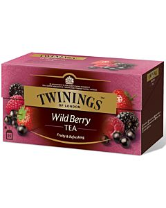 TWININGS 25PS/50G WILD BERRIES TEE